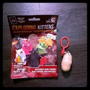 😻Exploding Kittens Potato Cat Figure/Keychain!